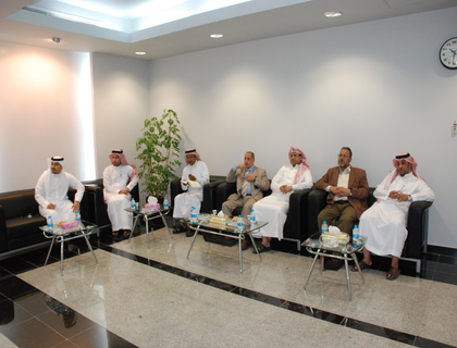 Visit by bin Laden Group, the maintenance and operation department in Holly Makkah