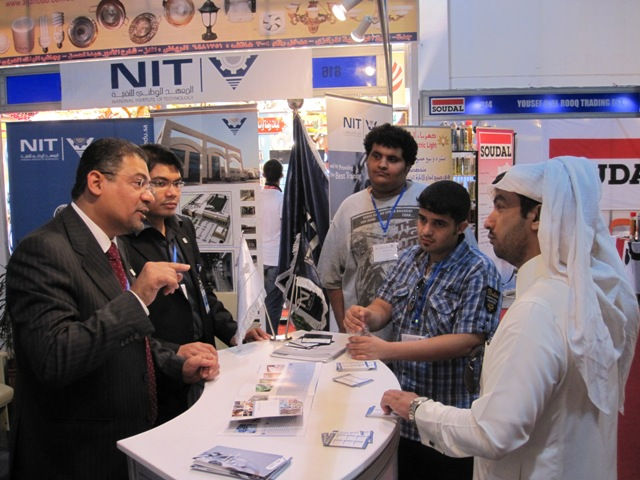 NIT participates in the activities of the 20th Saudi Building Industries Exhibition - Jeddah
