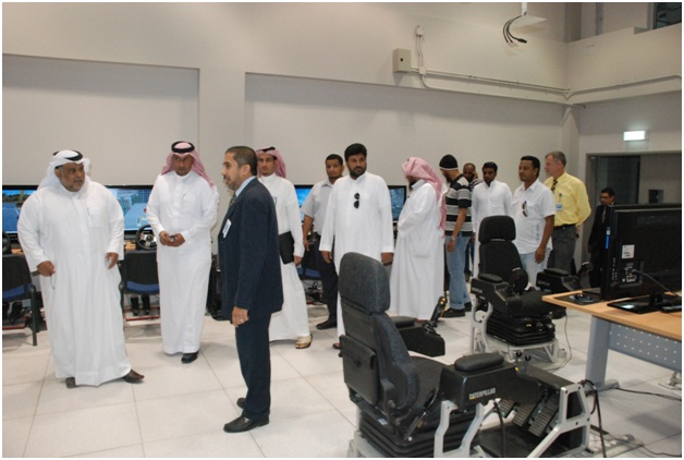 Visit of King Faisal Marine base Gharbia