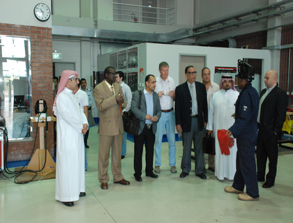 Yanbu Technical Institute Visits NIT